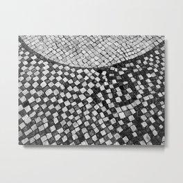 Mosaico A calçada portuguesa Metal Print