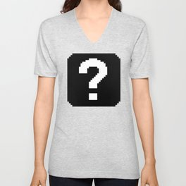 That's the question Unisex V-Neck