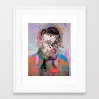 tchmo Framed Art Prints featuring Untitled 20150527u by tchmo