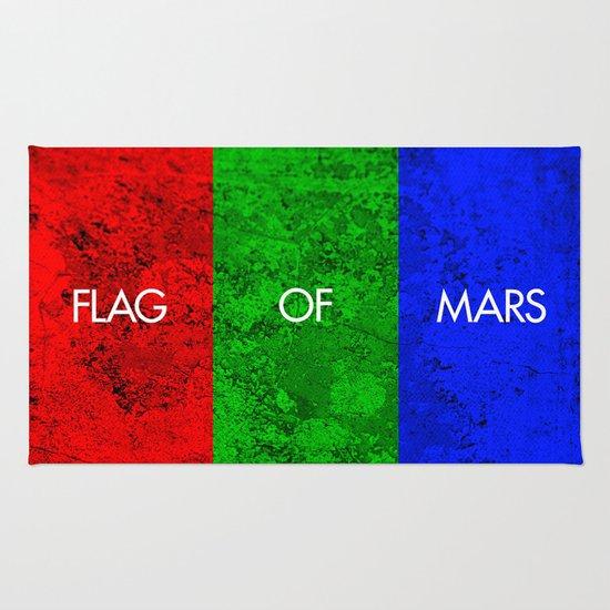 THE FLAG OF MARS Rug