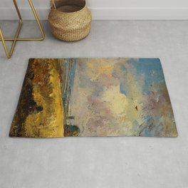 "John Constable ""The Skylark, Dedham"" Rug"