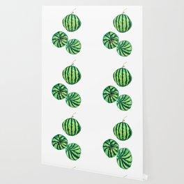 3 watermelon watercolor Wallpaper