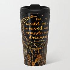 Saved and Remade - gold Metal Travel Mug