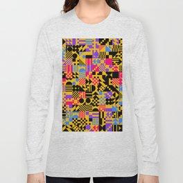RAND PATTERNS #32: Procedural Art Long Sleeve T-shirt