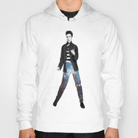 elvis Hoodies featuring Elvis by Maxime Zech