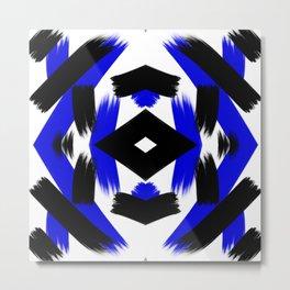 Pattern of Behavior Metal Print