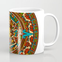 Aztec Mythology Calendar Coffee Mug