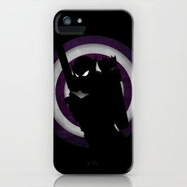 SuperHeroes Shadows : Hawkeye iPhone Case