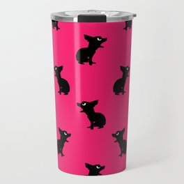Angry Animals: Chihuahua Travel Mug