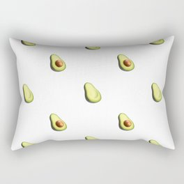 'ave an Avo! - White Print Rectangular Pillow