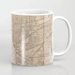 Vintage Map of Buffalo NY (1895) Coffee Mug