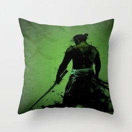 Japanese Samuri  Throw Pillow