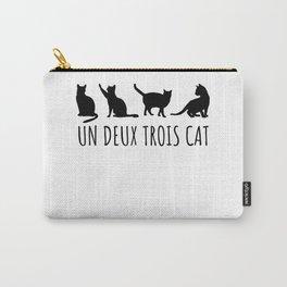 Un Deux Trois Cat French design Carry-All Pouch