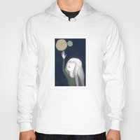 murakami Hoodies featuring two moons by martina troise