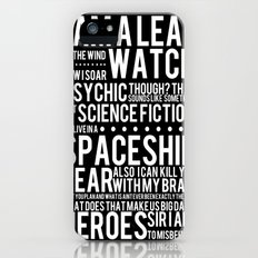 Firefly Subway Poster Slim Case iPhone (5, 5s)