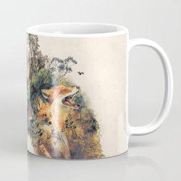 The Fox Nature Surrealism Coffee Mug