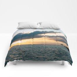 Island Sunset Comforters