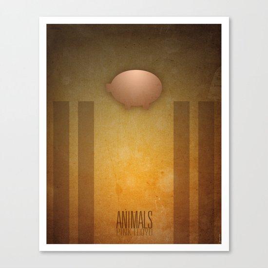 Smooth Minimal - Pink Floyd Canvas Print