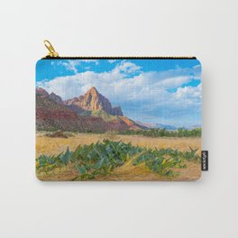 A Walk Through Zion Carry-All Pouch
