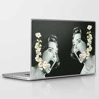 scream Laptop & iPad Skins featuring Scream by Ben Giles