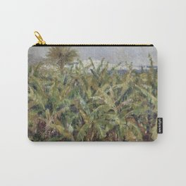 Renoir - Field of Banana Trees, 1881 Carry-All Pouch