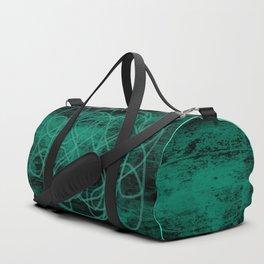Grunge in Teal Duffle Bag