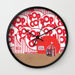 Not My Circus Wall Clock