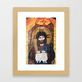 Good Shepherd Framed Art Print
