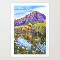 Autumn at the Salt River Art Print