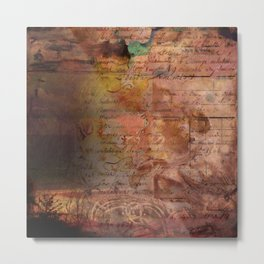 Lost Arts No.4 Metal Print