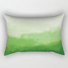 Abur on Green Rectangular Pillow