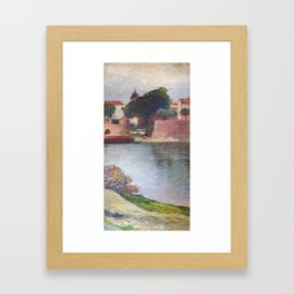 """Saint Peter Bridge"" by Henri-Jean Guillaume Martin Framed Art Print"