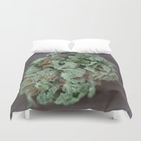 medical Duvet Covers featuring Master Kush Medical Marijuana by BudProducts.us