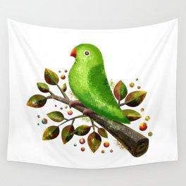 Parrot Bird Wall Tapestry