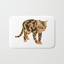 Simple Bengal Bath Mat