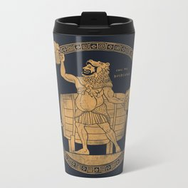 Call ME Beercules Metal Travel Mug