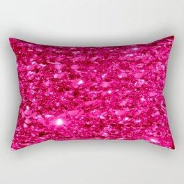 SparklE Hot Pink Rectangular Pillow