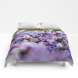 Purple posy Comforters