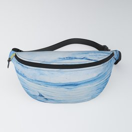 Full moon over shallow water Fanny Pack
