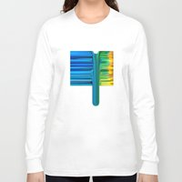 waterfall Long Sleeve T-shirts featuring Waterfall by Bruce Stanfield
