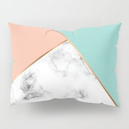 Marble Geometry 056 Pillow Sham