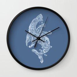 the Shark (Blue Version) Wall Clock