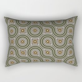 Round Truchets in CMR 01 Rectangular Pillow