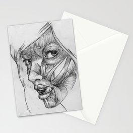 Skin Deep - Black & White Stationery Cards