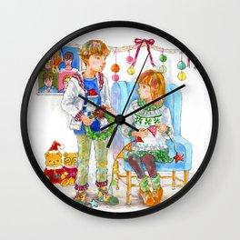 Pop Kids at Christmas Time vol.2 Wall Clock