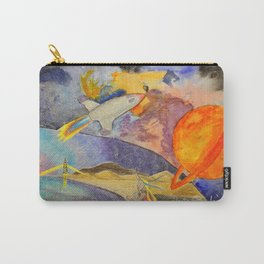 Boats and Birds Carry-All Pouch