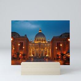 Papal Basilica of St. Peter in the Vatican Mini Art Print