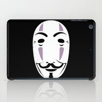 vendetta iPad Cases featuring NOFACE FOR VENDETTA by DrakenStuff+
