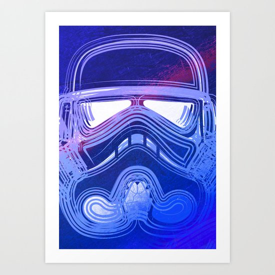 Pop Trooper Art Print