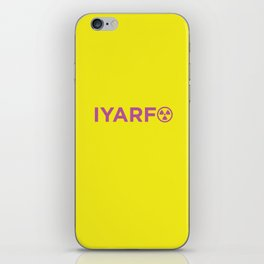 IYARFO Minimal Magenta iPhone Skin